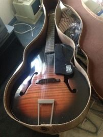 Harmony Guitar in Box