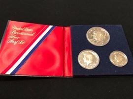 US Mint Bicentennial Proof Set in Folder