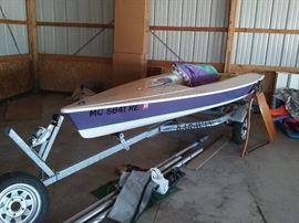 Sunfish ZUMA sail boat
