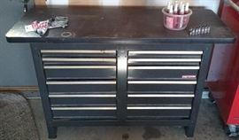 Craftsman storage bench