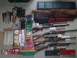 Remington, Crossman, Federal, Hoppe's
