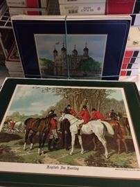 Sets of Pimpernel placemats - in gift boxes - never used