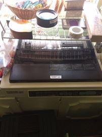 "Panasonic ""Quiet Printing"" typewriter KX-P2123"