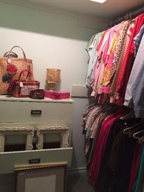 Purses, clothing, frames, etc.