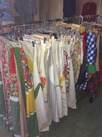 Table cloths of various sizes