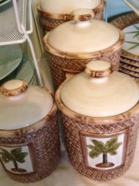 Palm  tree canisters