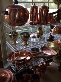More copper and brass selections