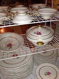 """Castleton """"Dolly Madison"""" china - made in the USA"""