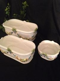 Assorted bowls from Italy