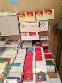 Some of the many packages of napkins ----- for all occasions!