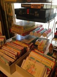 Greeting cards; some of the many games