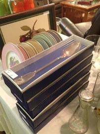 Boxed serving spoons