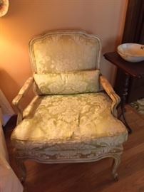 KINDEL  French Provencial Arm Chairs ( Pair)