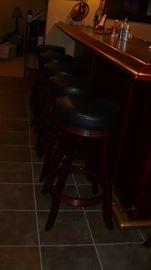6 bar stools nice