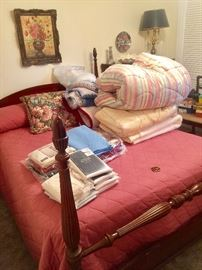 All Chenille Spreads , Bedding and Linens  must Go