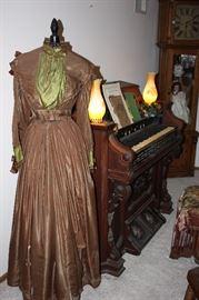 Antique dress/ dress form