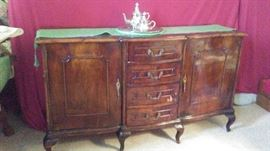 Buffet to Antique French Dining Room Suite