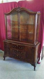 China Cabinet Antique French Dining Room Suite
