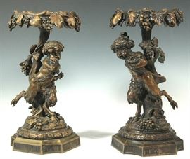 bronzesatyrfiguraltazza full