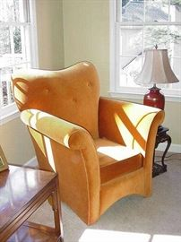 Fantastic accent chair with rolled arms