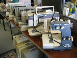 Sewing Machines Galore!