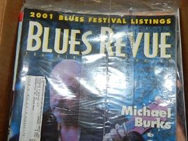 collectibles Blues magazines