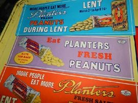 vintage Planters Peanuts collectibles