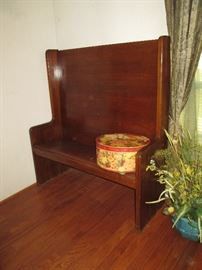 Awesome Wood Pew
