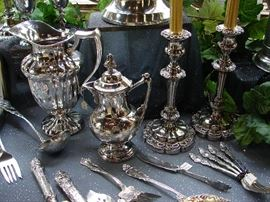 Selection of silver from the Enchanted Nook