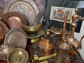 Selection of copper from the Enchanted Nook
