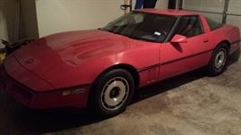 1984 Corvette w/128,756 miles. very well kept. Will sell before the sale. If your interested......don't wait.