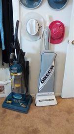 4 vacuum cleaners