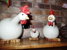 Family of chickens looking for new home!