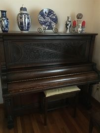 Magnificent , Richmond piano, upright grand 500.00. It needs tuned of course