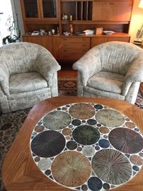 Custom chairs by Otmar of Cincinnati