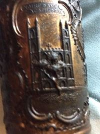 Chicago 1883 Exposition Cup: close up