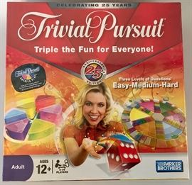 Unsealed, 25th Anniversary Trivial Pursuit Game