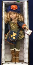 Goldie Girl Collectible Doll