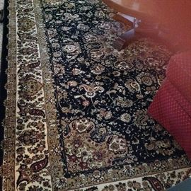 One of the several beautiful rugs.