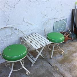 Mid-century Iron chair