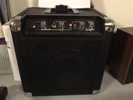 Ion Tailgater Ipod speaker amp with microphone
