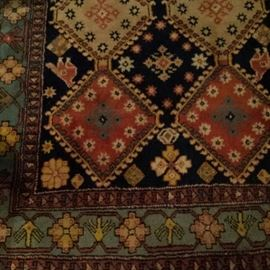 medium sized rug