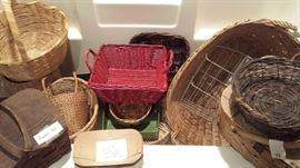 baskets, baskets, baskets... many more not photographed