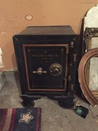 great antique safe with combination