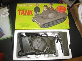 Radio Control Tank in box