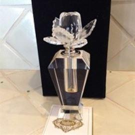 Godinger Shannon Crystal Perfume Bottle