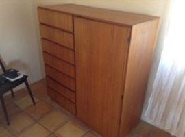 Komfort Teak Wardrobe Dresser