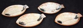 Set of Lagardo Tackett & Kenji Fujita Ceramic Plates; Lot 3075. View full catalog at www.slawinski.com
