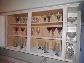 Glassware, stem ware
