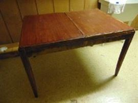 Vintage wood table
